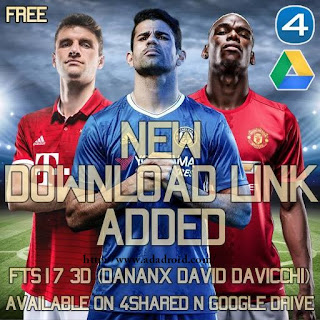 FTS17 3D Mod by Danank Apk + Data Android