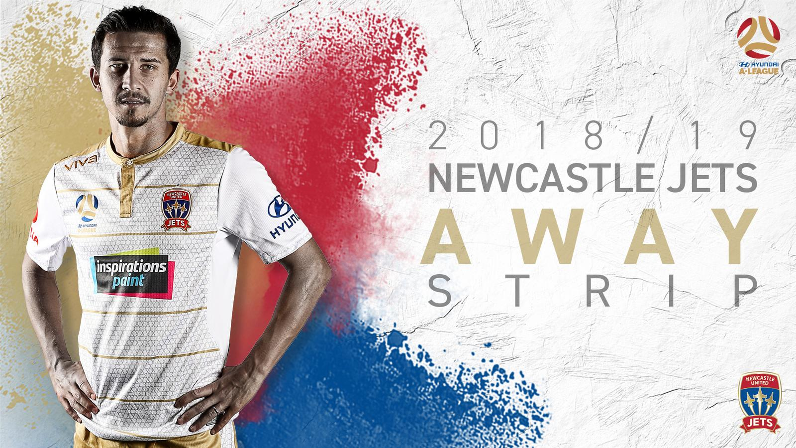 Newcastle Jets: Newcastle Jets 18-19 Home, Away And Third Kits Released
