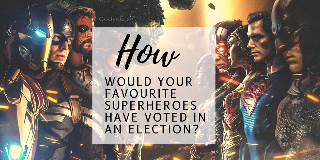 How Would Your Favourite Superheroes Have Voted in an Election?