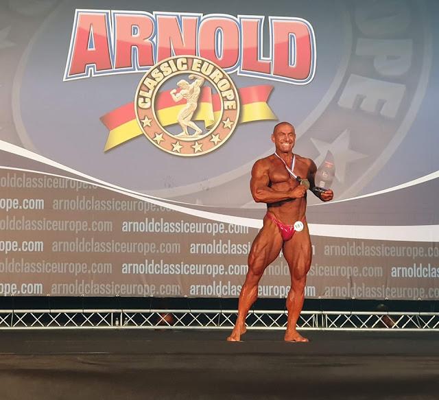 Χρυσός πάλι ο Τάσος Κολιγκιώνης στους αγώνες Arnold Classic Europe στην Ισπανία