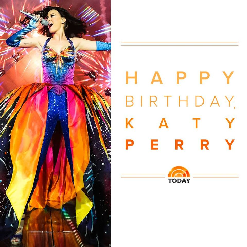 Katy Perry's Birthday Wishes for Whatsapp