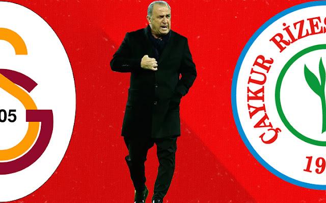 Galatasaray rotasyona gitti