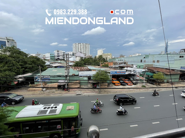 Bán nhà mặt tiền Đinh Bộ Lĩnh. Bình Thạnh. Gần bx Miền Đông. Miendongland.com