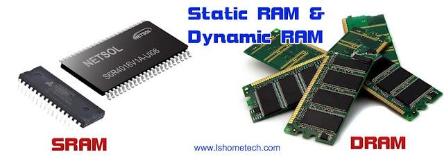 Static Ram and Dynamic RAM