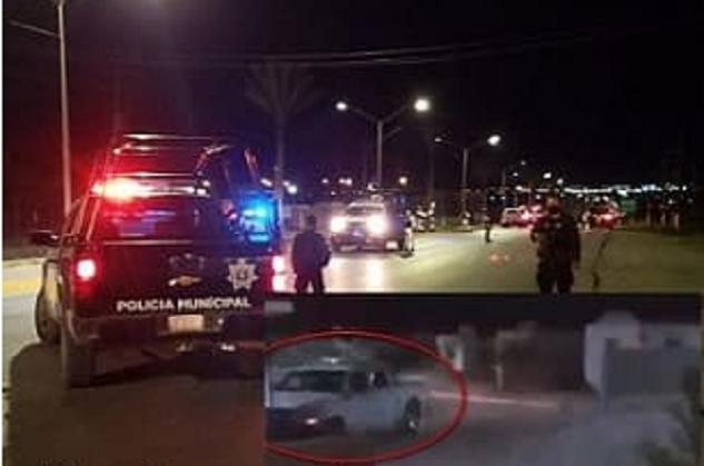 VIDEO.- Sicarios de Las Tropas quisieron entrar a tomar Coahuila pero se toparan con Policías y así fue como salieron huyendo