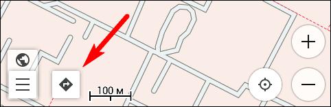 Версия 2.3.3 - кнопка автоматической прокладки маршрута
