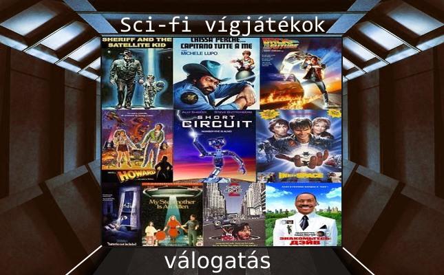 Sci-fi vígjátékok válogatás