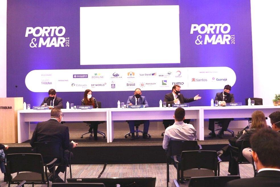 Autoridades portuárias participam do 1º Encontro Porto & Mar 2021