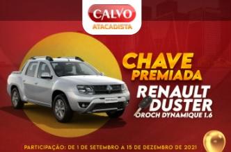 Cadastrar Chave Premiada Calvo Atacadista