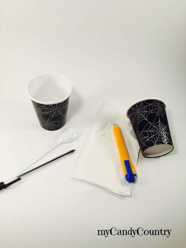Halloween: riciclando un cucchiaio