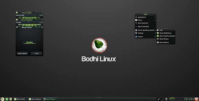 Lançada a versão final da distribuição Bodhi Linux!