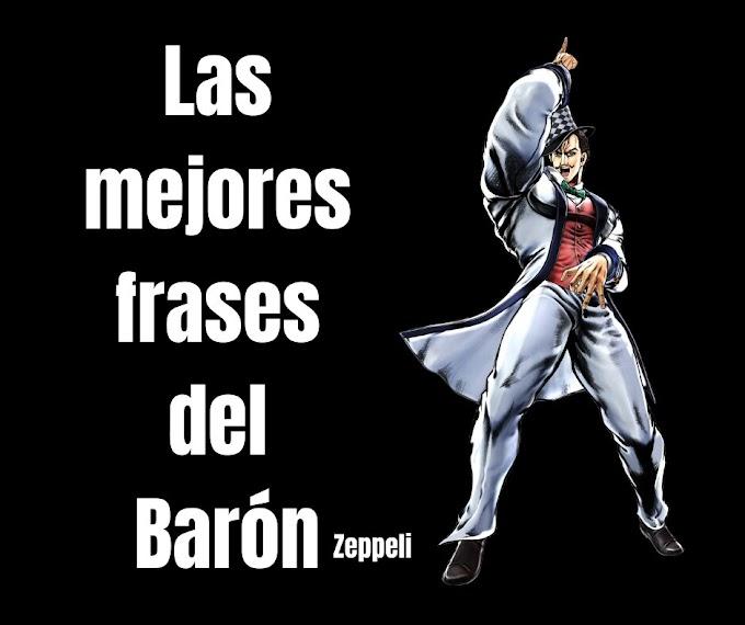 Las mejores Frases Del Barón Zeppeli, JoJo's Bizarre Adventure