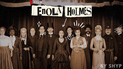 Harry Bradbeer, Jack Thorne, The Enola Holmes Mysteries, Nancy Springer, Millie Bobby Brown, Sam Claflin, Henry Cavill, Helena Bonham Carter, Netflix,Film Yorumları,