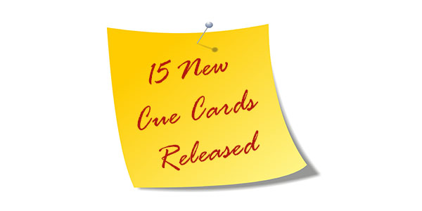 New Cue Cards Released for May to August 2020