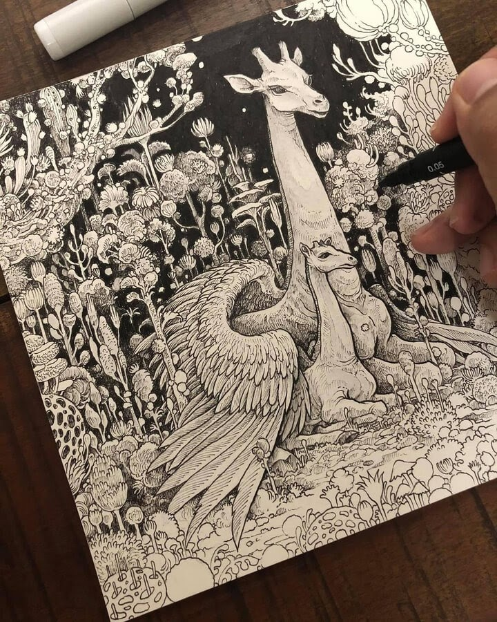 05-Creatures-safe-in-the-forest-Kerby-Rosanes-www-designstack-co
