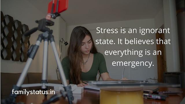 Work pressure status english