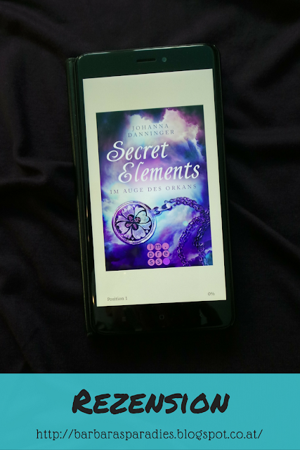 Buchrezension #175 Secret Elements 3: Im Auge des Orkans von Johanna Danninger