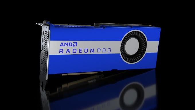 AMD Radeon PRO VII, Kartu Grafis profesional untuk workstation High End