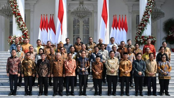Kontroversi Jokowi Mania Sentil Menteri Inisial P