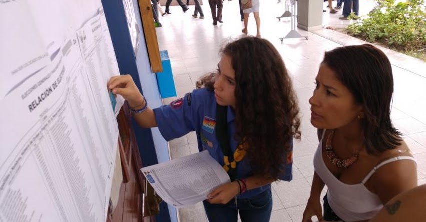 ONPE inició proceso para elegir a miembros de nuevas mesas de sufragio en referéndum - www.onpe.gob.pe