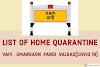 Vapi , Umargaon ,Pardi ,Valsad List of Home Quarantine (COVID 19)