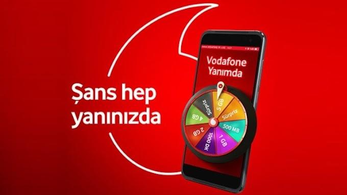 Vodafone Sınırsız Çark Çevirme Yöntemi