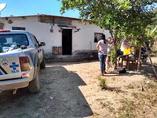 Famílias da área rural de Jacupiranga recebem doações do Fundo Social de Solidariedade
