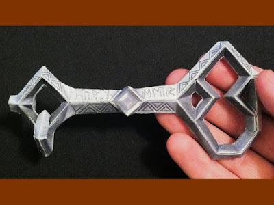 Hobbit Papercraft: Erebor Key