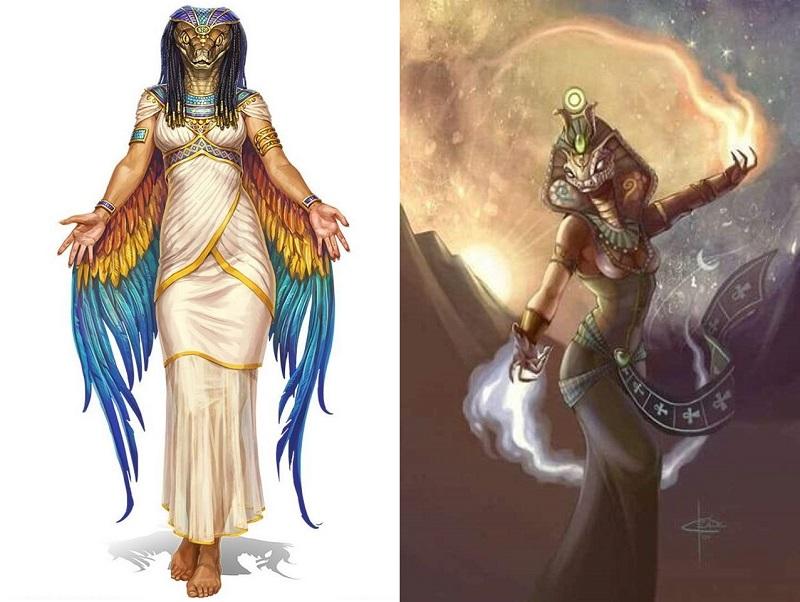 Wadjet - Deusa Padroeira do Egito