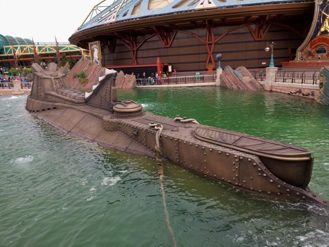 Nautilus en Discoveryland