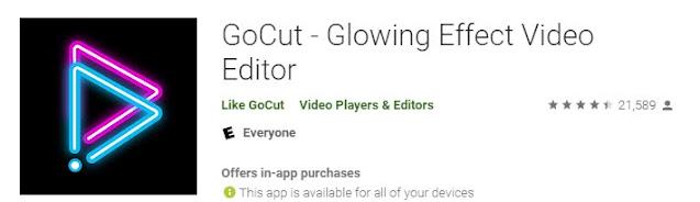 GoCut- Glowing video editor