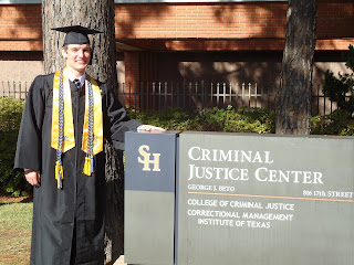 Craig Dye graduated with a Bachelor of Science in Criminal Justice in December 2011.