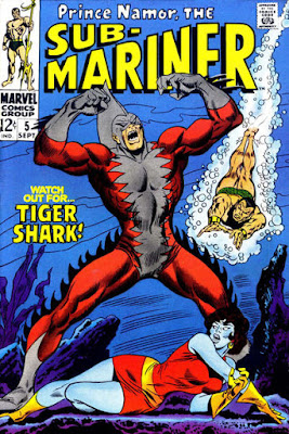 The Sub-Mariner #5, Tiger Shark