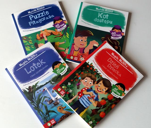 Już czytam - książki dla dzieci rozpoczynających naukę czytania