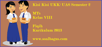 Download/ Unduh kisi kisi soal ukk/ uas fiqih mts kls 8 semester 2. genap kurikulum 2013/ kurtilas tahun 2017 www.soalbagus.com