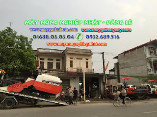 Giao Bán máy gặt Kubota DC 68 đi Phúc Thọ Hà Tây Hà Nội cho khách hàng