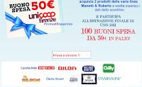 Logo Con Manetti&Roberts vinci buoni spesa da 50 euro