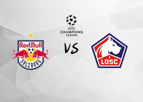Salzburgo vs Lille  Resumen