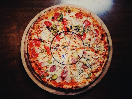 Happy Pi-Day | π anhand von Pizza (πzza) erklärt