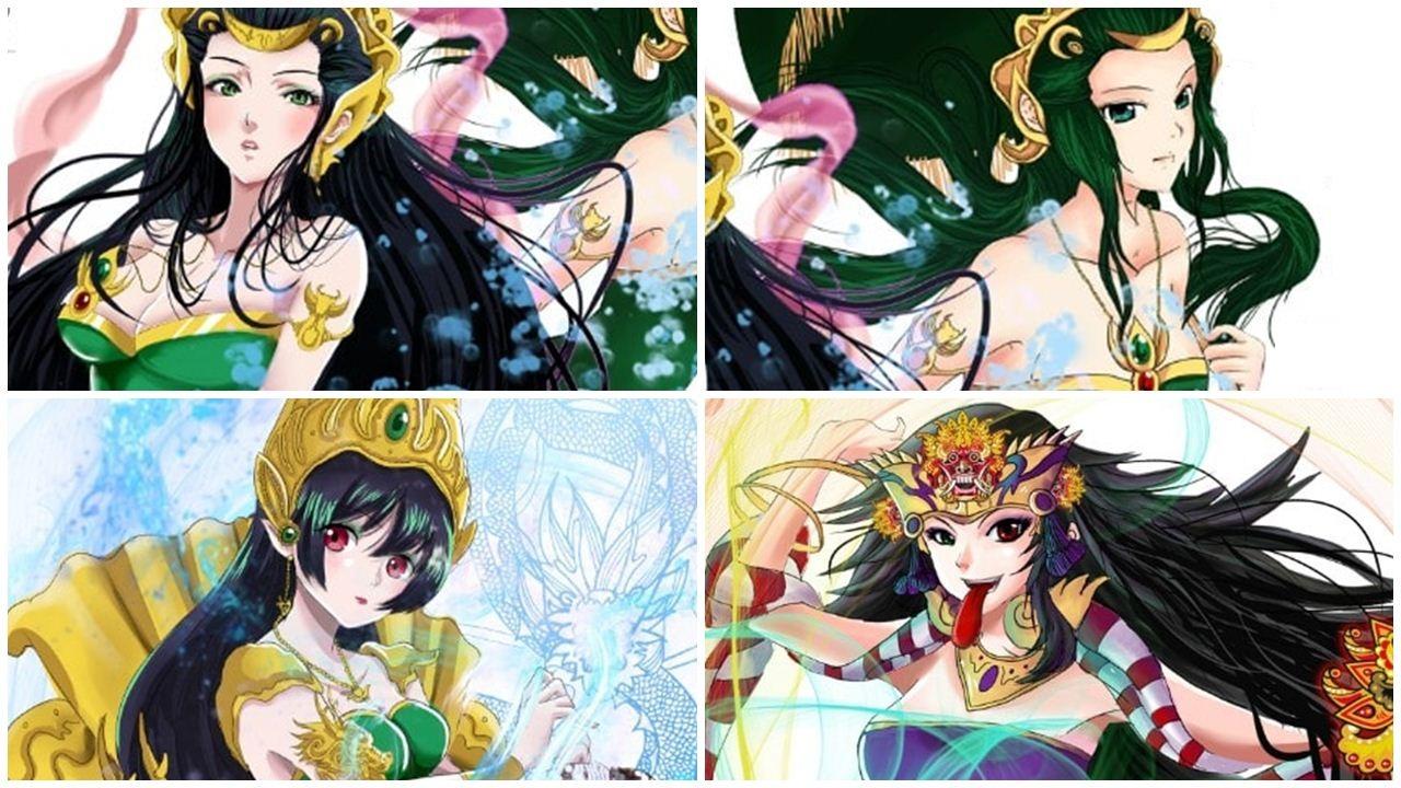indonesia mythology anime
