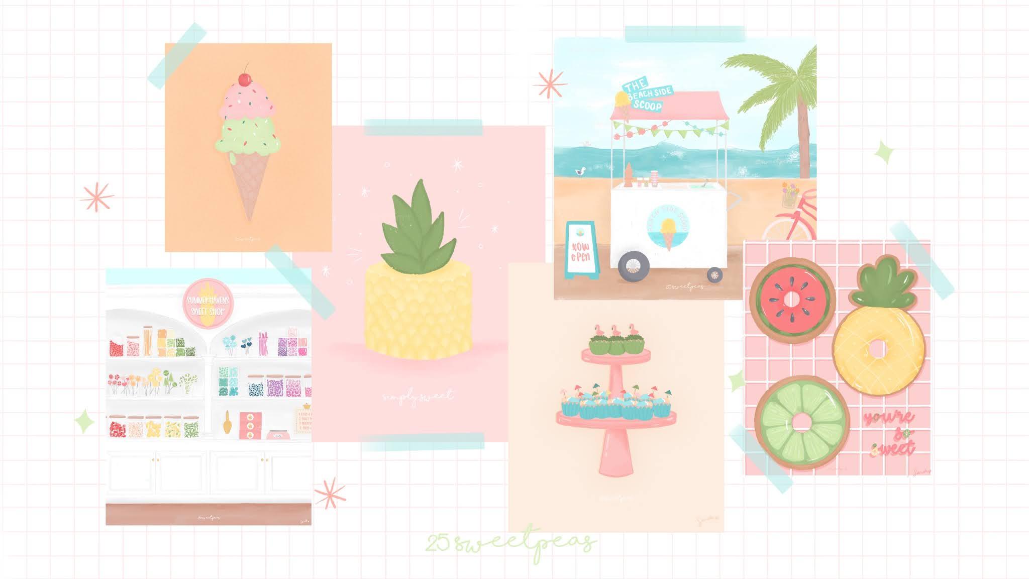 25 Sweetpeas Making Art Everyday