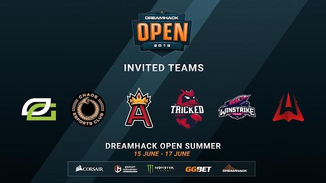 明日6月15日(土)19:00より賞金総額10万ドル「DreamHack Open Summer 2019」がスタート