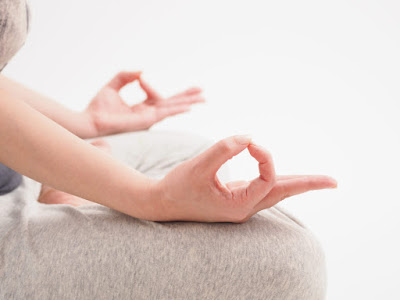 Guided meditation or alone