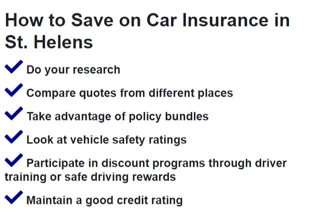 Auto Insurance Saint Helens Oregon