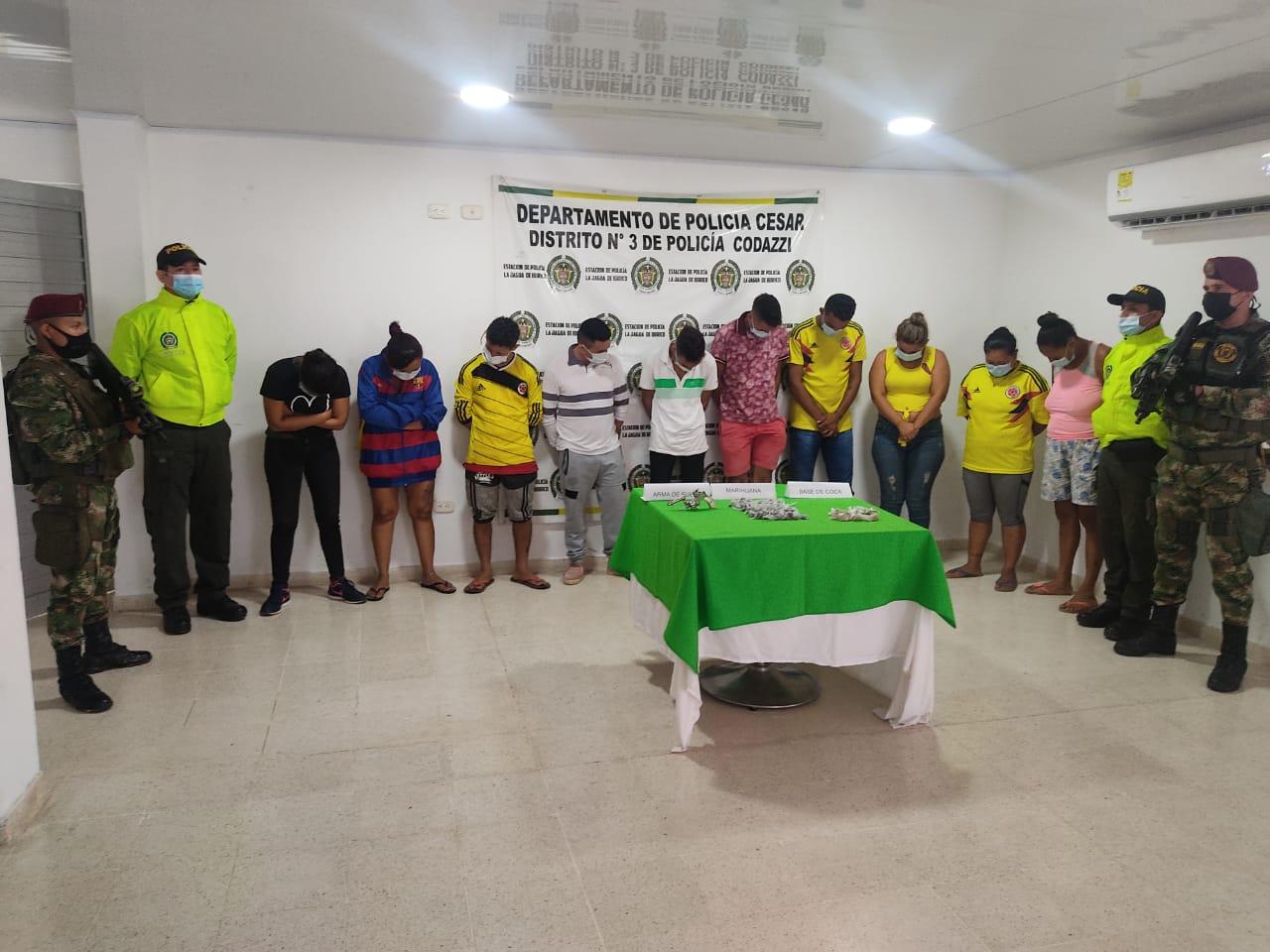 hoyennoticia.com, Desarticulados 'Los Iguanos' de La Jagua de Ibirico