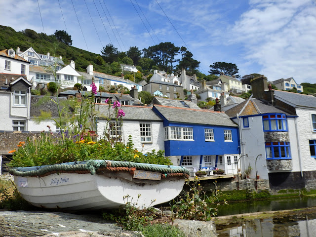 Polperro harbour and cottages, Cornwall