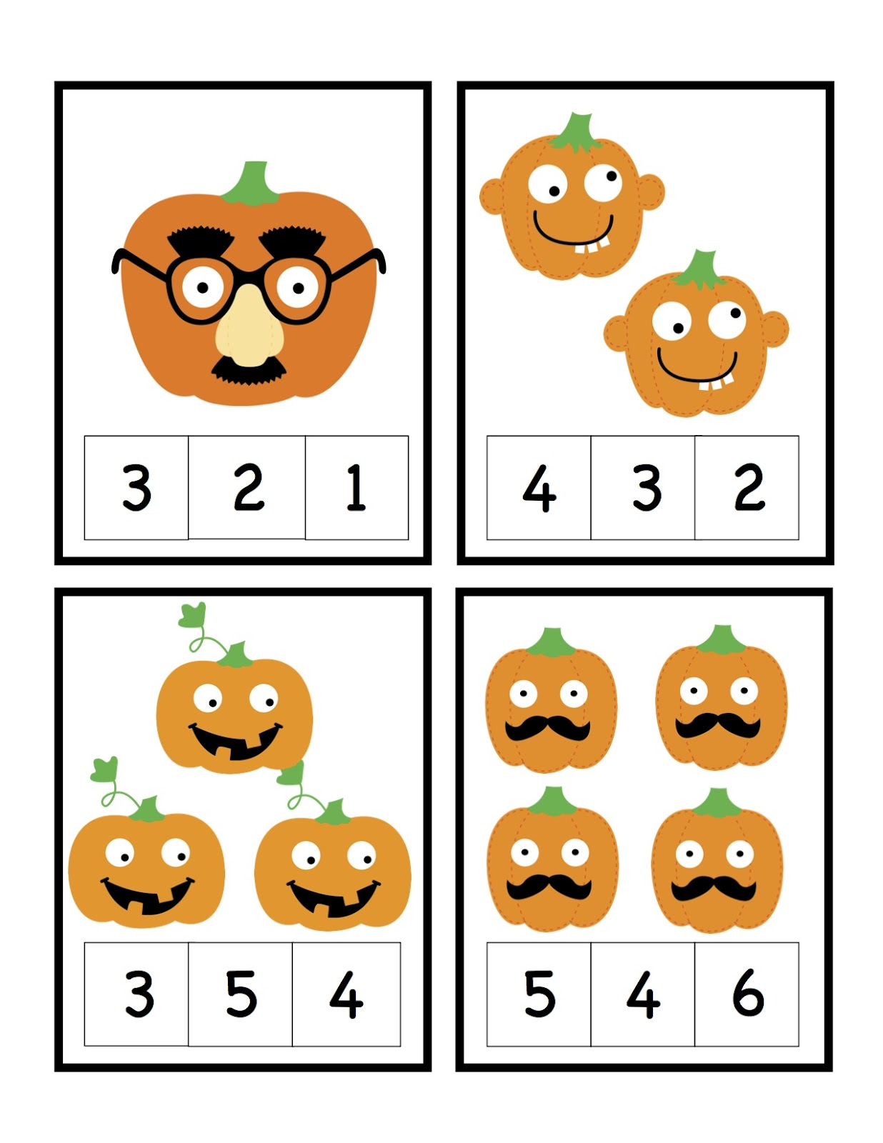 Preschool Printables September