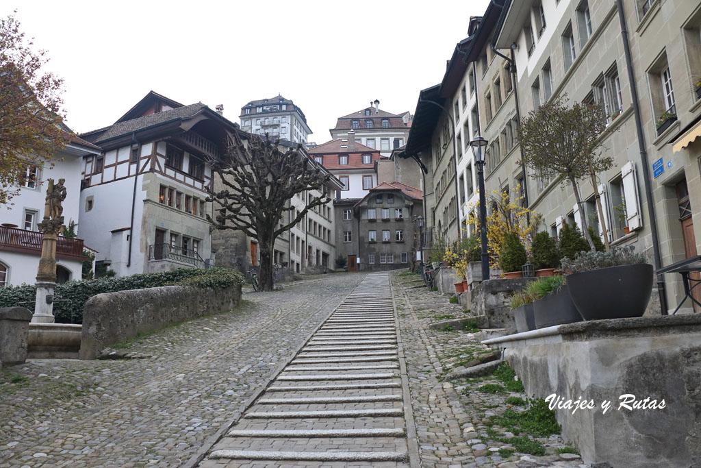 Escaleras de Court-Chemin de Friburgo