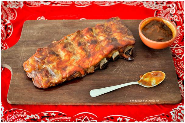 receita de costelinha ao molho barbecue