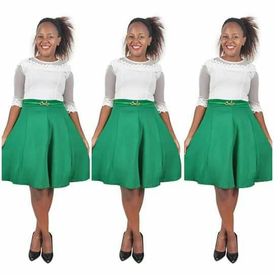 Photo Collection of Latest Office Skirt and Blouse Designs You Will Adore